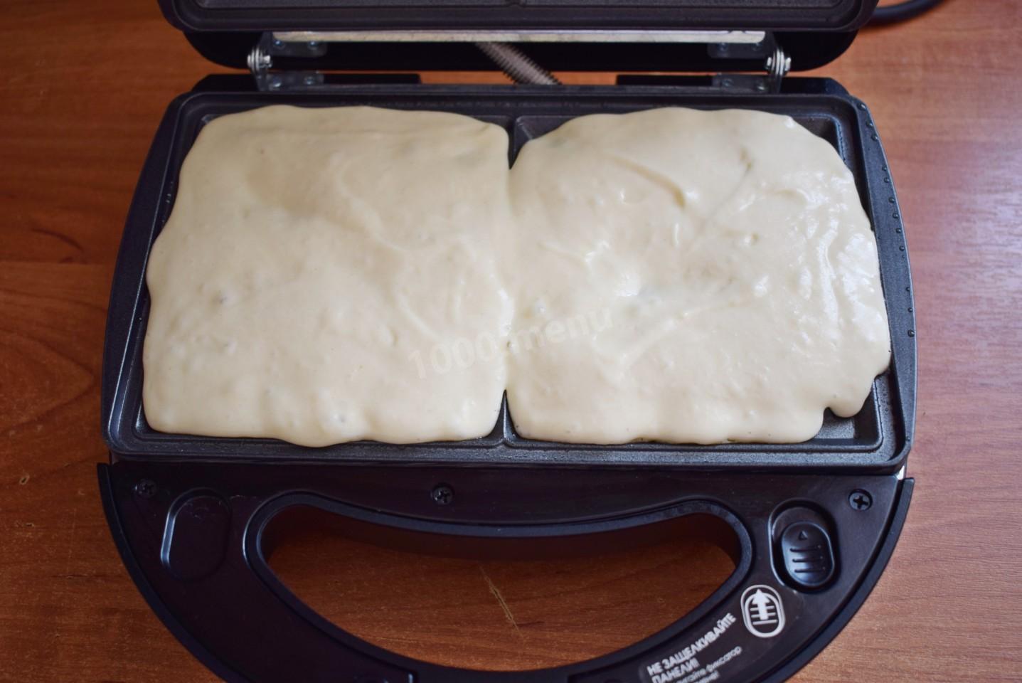 Венские вафли на кефире
