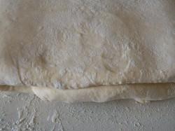 кулинарный рецепт как приготовить слоеное тесто Шаг 24.