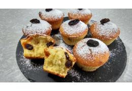 Приготовить кексы из творога с изюмом пошаговый кулинарный рецепт