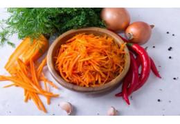 Кулинарный рецепт морковь по-корейски