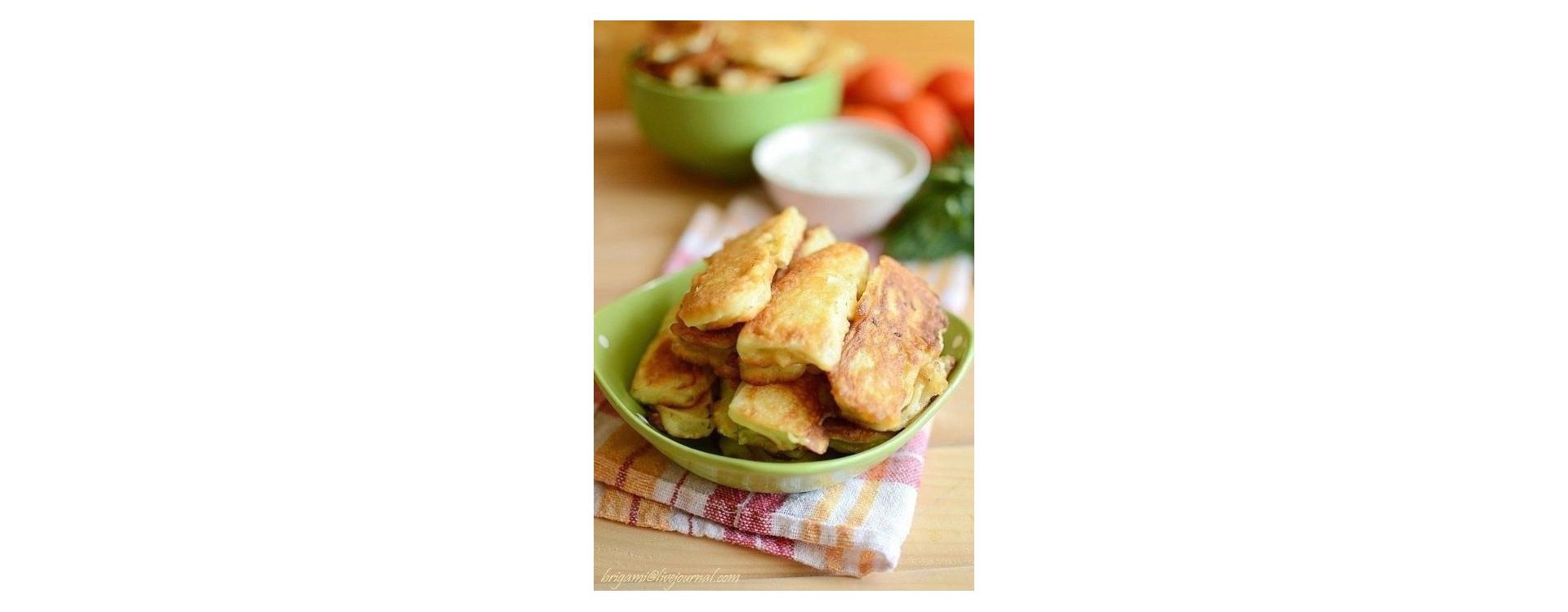 Кабачки в обалденно-вкусном кляре кулинарный рецепт